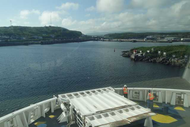 Harvey New Brunswick From Cape Breton Island